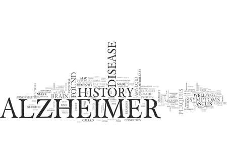ALZHEIMERS EYE TEST TEXT WORD CLOUD CONCEPT