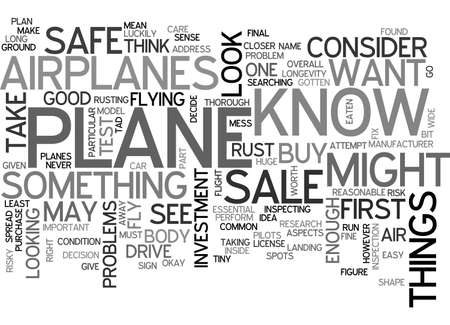AIRPLANES FOR SALE TEXT WORD CLOUD CONCEPT 向量圖像