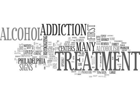 centers: ALCOHOL TREATMENT CENTERS IN PHILADELPHIA TEXT WORD CLOUD CONCEPT