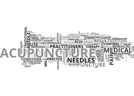 A QUICK START GUIDE TO ACUPUNCTURE TEXT WORD CLOUD CONCEPT