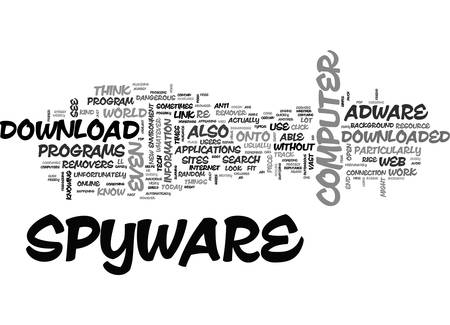 ADWARE AND SPYWARE REMOVERS A BEGINNER S PRIMER TEXT WORD CLOUD CONCEPT