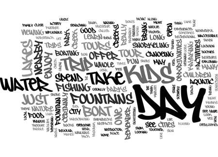 AQUASIZE TO A FLATTER STOMACH TEXT WORD CLOUD CONCEPT Illustration