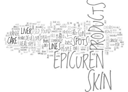 ARE EPICUREN SKIN CARE PRODUCTS WORTH THE MONEY TEXT WORD CLOUD CONCEPT