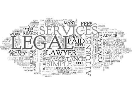 ARE PRE PAID SERVICES WORTH THE MONEY TEXT WORD CLOUD CONCEPT