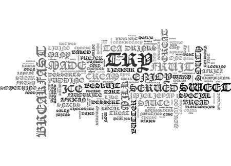 AFTER LUNCH DESSERTS AND SNACKS TEXT WORD CLOUD CONCEPT