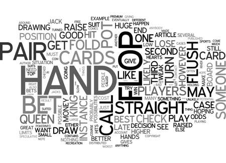 defined: AFTER THE FLOP TEXT WORD CLOUD CONCEPT