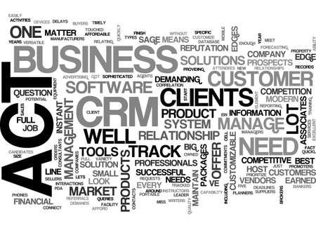 CRM システムのテキスト単語雲・概念の法をアップしています。  イラスト・ベクター素材