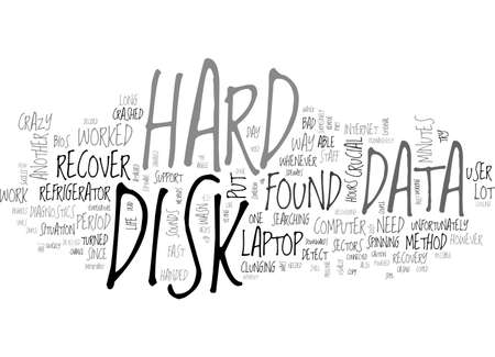 A SIMPLE AND CRAZY WAY TO RECOVER YOUR DATA TEXT WORD CLOUD CONCEPT