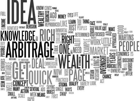 A SIMPLE GET RICH QUICK IDEA TEXT WORD CLOUD CONCEPT