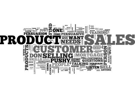 persuasive: BE PERSUASIVE WHEN YOU SELL TEXT WORD CLOUD CONCEPT Illustration