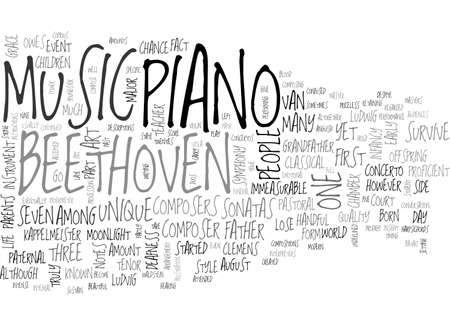 owes: BEETHOVEN TEXT WORD CLOUD CONCEPT