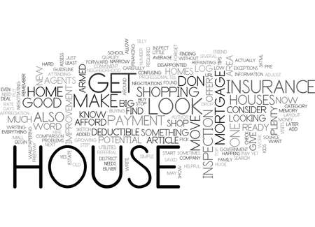 qualify: BEFORE YOU BUY A HOUSE TOP TIPS TEXT WORD CLOUD CONCEPT