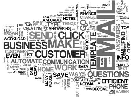 AUTOMATE YOUR REPETITIVE HOME BUSINESS TASKS TEXT WORD CLOUD CONCEPT