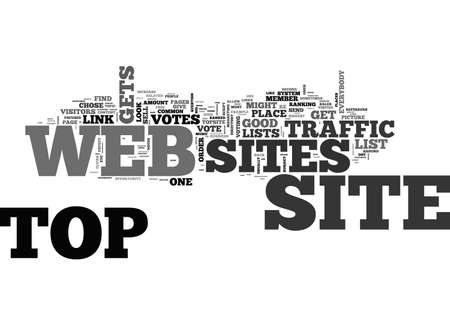 ARE TOP WEB SITES GOOD FOR EVERYBODY TEXT WORD CLOUD CONCEPT