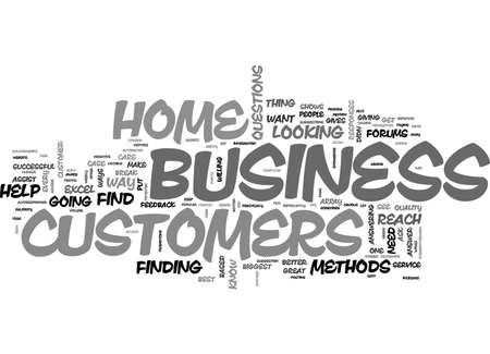 ARE YOU AWARE OF YOUR HOME BUSINESS CUSTOMERS NEEDS TEXT WORD CLOUD CONCEPT