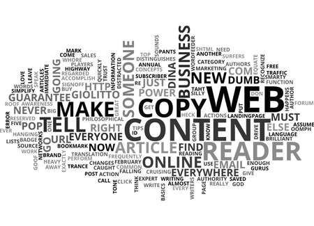 ARE YOU CONTENT WITH YOUR CONTENT TEXT WORD CLOUD CONCEPT