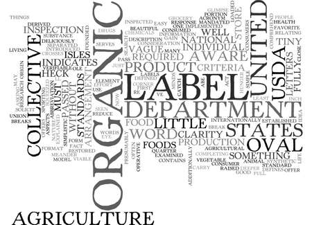 AUSDA ORGANIC WHAT THE HECK IS THAT WORDS TEXT WORD CLOUD CONCEPT