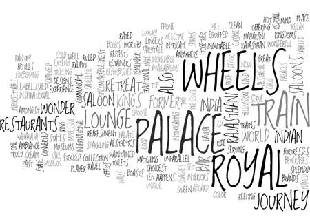 A TRAIN RIDE TO REMEMBER TEXT WORD CLOUD CONCEPT