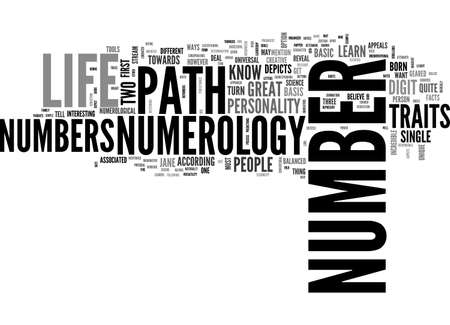 A VERY SIMPLE GUIDE TO LEARN NUMEROLOGY TEXT WORD CLOUD CONCEPT