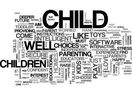 BE A POTTER MOLD YOUR CHILD TO BE AN ACHIEVER TEXT WORD CLOUD CONCEPT