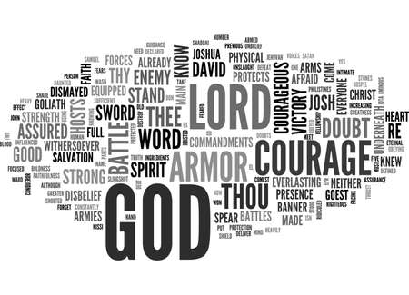 BE COURAGEOUS TEXT WORD CLOUD CONCEPT