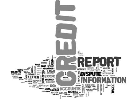 BE A CREDIT DETECTIVE TEXT WORD CLOUD CONCEPT