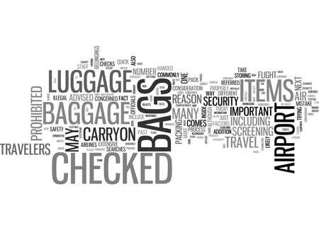 航空手荷物本文の単語雲概念について知っている必要なもの