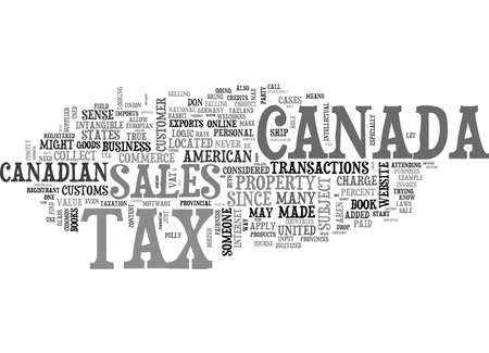 ALAS IN E COMMERCE TAXLAND TEKST WORD CLOUD CONCEPT Stock Illustratie