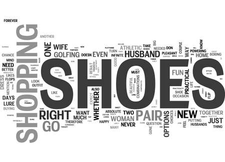 BABY WANTS BUT MAYBE DOESN T NEED NEW SHOES OR THE PSYCHOLOGY OF NEW SHOES TEXT WORD CLOUD CONCEPT Illustration