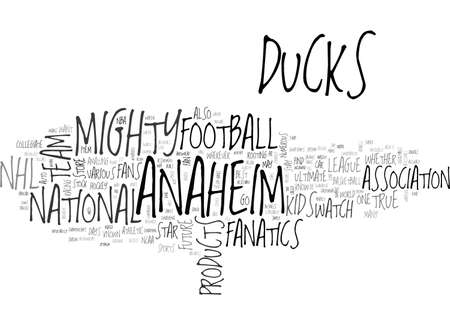 entered: ANAHEIM ANGELS PREVIEW TEXT WORD CLOUD CONCEPT Illustration