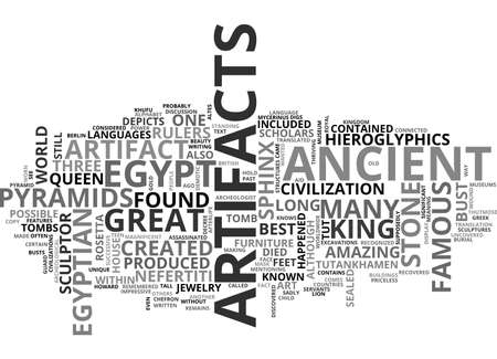 ANCIENT CLOCKS TEXT WORD CLOUD CONCEPT Illusztráció