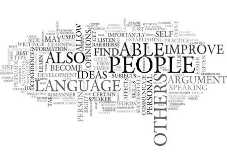 BARRIERS IN PERSONAL DEVELOPMENT TEXT WORD CLOUD CONCEPT