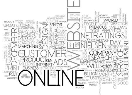 ウェブサイトはビジネス テキスト単語の概念はクラウドのためのよいビジネスです。 写真素材 - 79496804