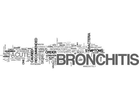 asthmatic: ACUTE ASTHMATIC BRONCHITIS TEXT WORD CLOUD CONCEPT