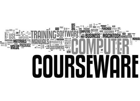 macintosh: ADD VALUE TO YOUR BUSINESS WITH COMPUTER COURSEWARE TEXT WORD CLOUD CONCEPT