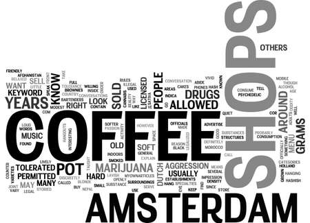 AMSTERDAM CHEAP TRAVEL GUIDE ENJOY IT TEXT WORD CLOUD CONCEPT