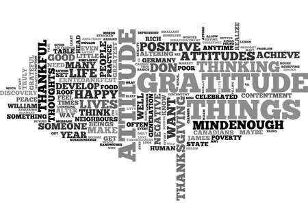 AN ATTITUDE CHANGE IS THE BIGGEST CHANGE YOU WILL EVER MAKE TEXT WORD CLOUD CONCEPT Banco de Imagens - 79505346
