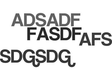 ADSADF TEXT WORD CLOUD CONCEPT
