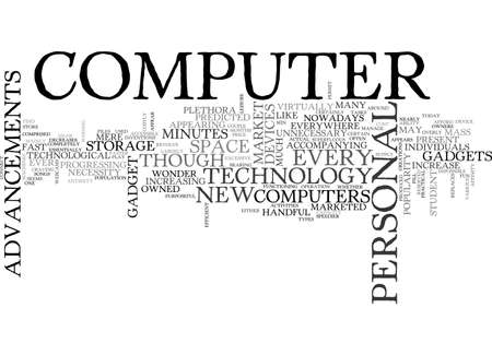 ADVANCEMENTS IN COMPUTER TECHNOLOGY TEXT WORD CLOUD CONCEPT