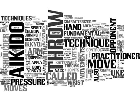 resulted: AIKIDO FUNDAMENTALS TEXT WORD CLOUD CONCEPT