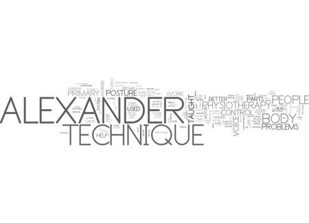ALEXANDER LUNEV THE PRECURSOR OF NEW WAVE MUSIC TEXT WORD CLOUD CONCEPT Illustration