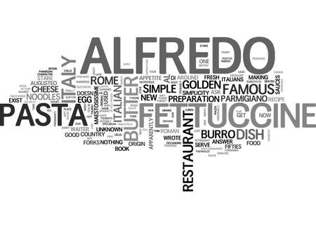 ALFALFA-TEKST WORD CLOUD CONCEPT