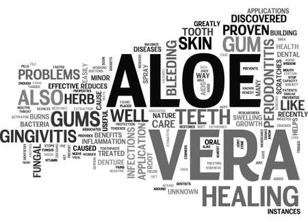versatile: ALOE VERA PRODUCTS TEXT WORD CLOUD CONCEPT Illustration