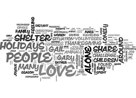 ALONE BUT NOT LONELY TEXT WORD CLOUD CONCEPT