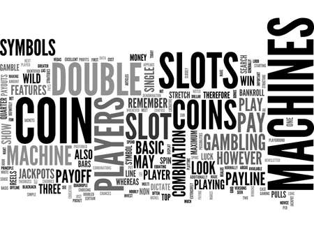 BASIC SLOTS FEATURES STRATEGIES TEXT WORD CLOUD CONCEPT