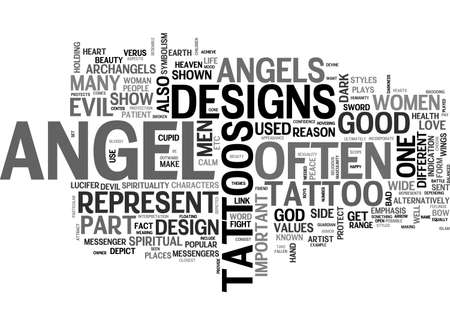 established: ANGEL DVD REVIEW TEXT WORD CLOUD CONCEPT