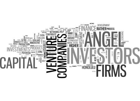 ANGEL TO ANGEL TEXT WORD CLOUD CONCEPT Vetores