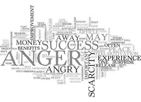 overt: ANGER AND HEALTH TEXT WORD CLOUD CONCEPT Illustration
