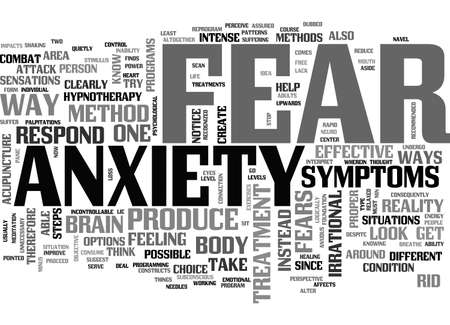 ANXIETY ENDS WITH US TEXT WORD CLOUD CONCEPT