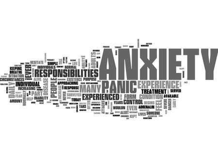 ANXIETY IN DOGS TEXT WORD CLOUD CONCEPT
